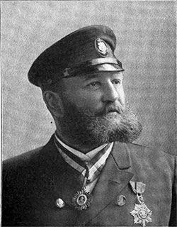 Captain Heinrich H. Barends, Four Popular Commanders of The Hamburg America Line.