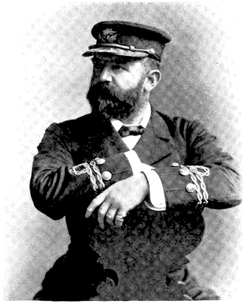 White Star Line Captain Cameron of the SS Teutonic.