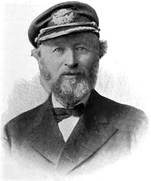 White Star Line Captain Parsell of the Majestic.