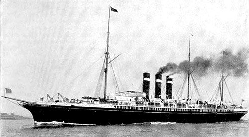 The American Line SS New York.