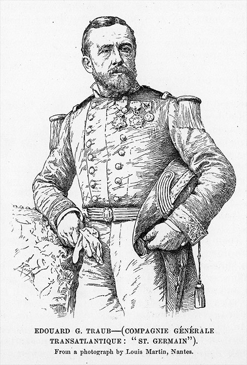 Captain Edouard G. Traub