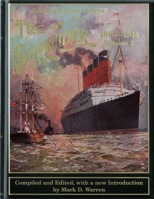 Front Cover, The Shipbuilder - Distinguished Liners 1907 - 1914 v2