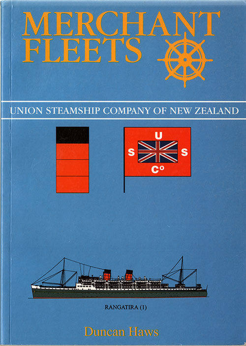 Front Cover, MUnion Steamship Company of New Zealand - Merchant Fleets #32