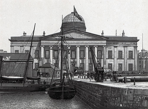 Custom House at Liverpool