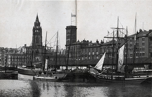 St. George's Dock and St. Nicholas Church