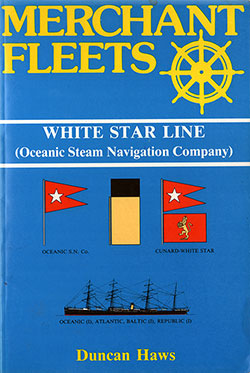 Front Cover, White Star Line - Merchant Fleets #19