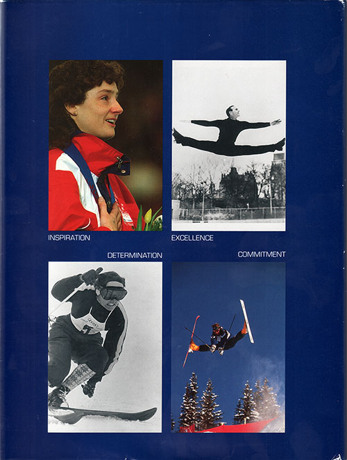 Back Cover - Chamonix to Lillehammer: The Glory of the Olympic Winter Games