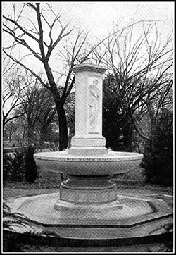 Memorial Fountain, Designed by Thomas Hastings, Bas-Reliefs byDaniel Chester French.