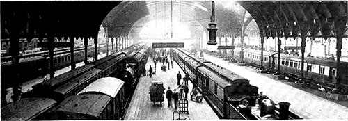 Paddington Station, Platforms 2-7.