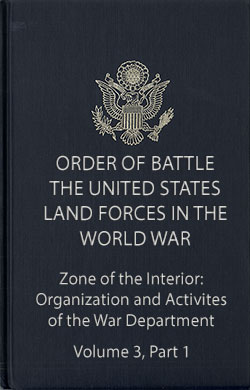 Volume 3 Part 1 Organization and Activities of the War Department
