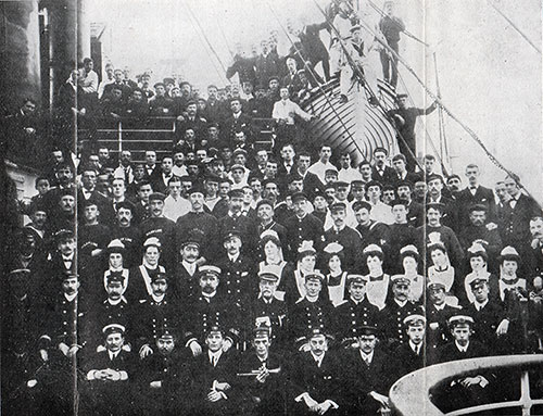 Officers and Crew of the SS Corsican