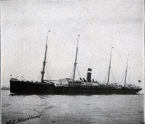 The SS Noordland of the American Line