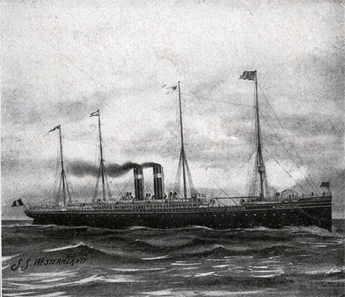 The American Line Steamship Westernland