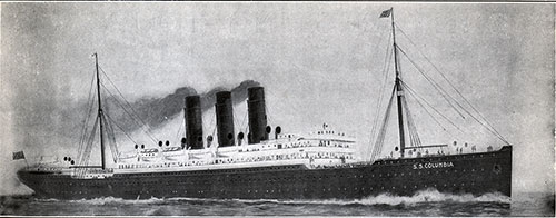 The Steamship Columbia of the Anchor Line - 8,292 Tons