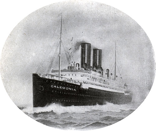 The Steamship Caledonia of the Anchor Line