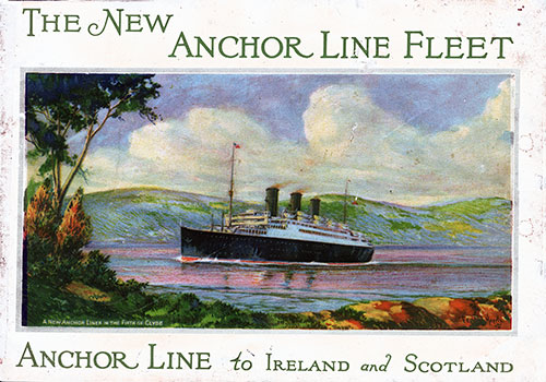 The New Anchor Line Fleet - 1926 | GG Archives