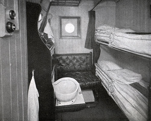Second Cabin Stateroom