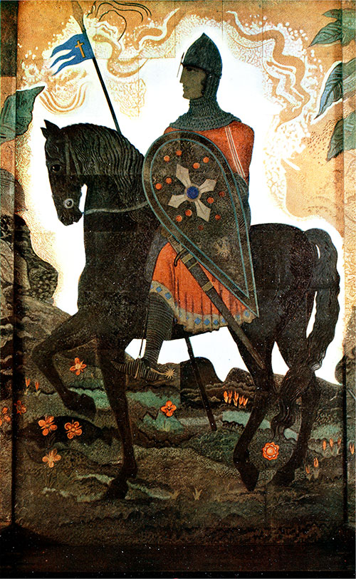 "The Great Tapestry ""The Norman Knight"" of Schmied."