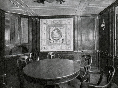 Dining Room of the Luxury Suite