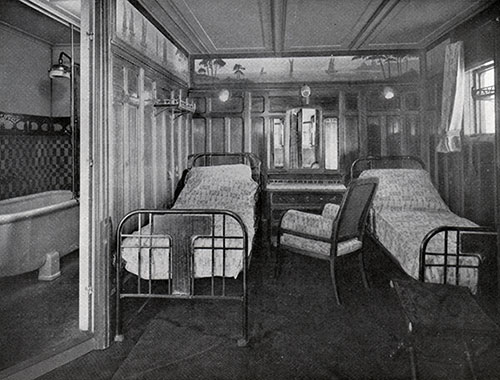 First Class Cabin with Baths