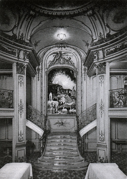 Grand Staircase of the First Class Dining Room