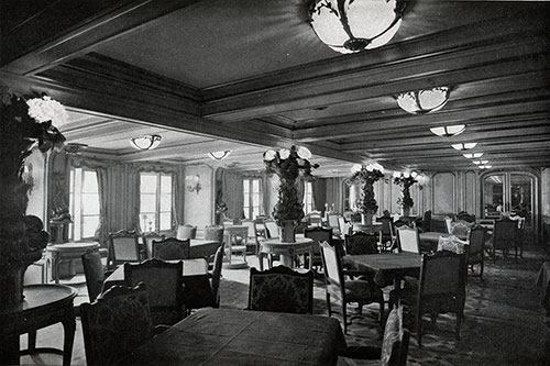 Corner of the First Class Dining Room