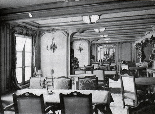 A Corner of the First Class Dining Room