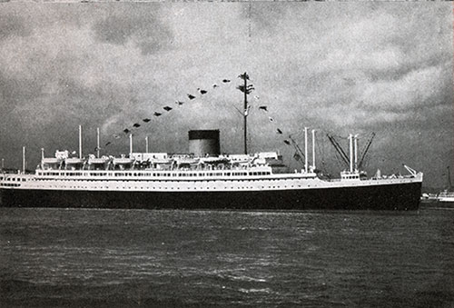 The SS Lafayette of the CGT-French Line.