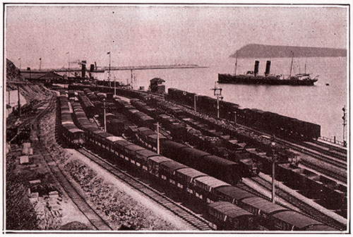 Sidings At Fishguard