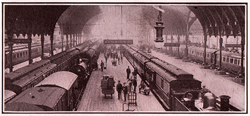 Paddington Station Today (1913)