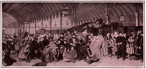 Paddington Station in Prunel's Time (circa 1850s)