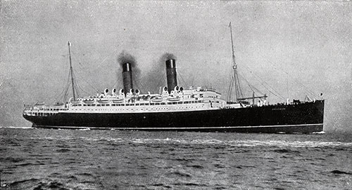 The Cunard New Twin-Screw Steamers RMS Franconia and Laconia