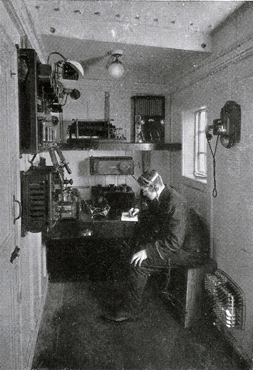 The Marconi Wireless Room