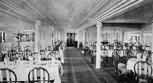 Second Cabin Dining Saloon