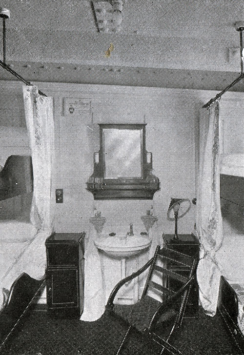 Second Cabin Four-Berth Room