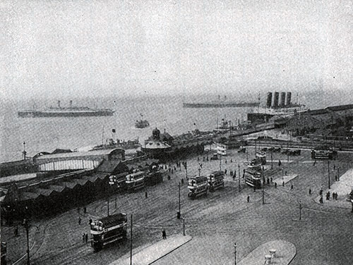The Liverpool Landing Stage