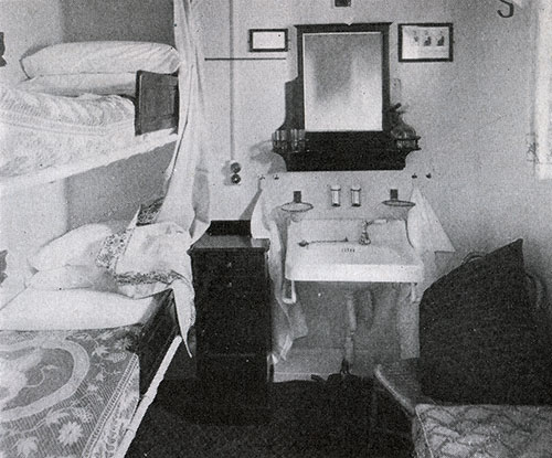 Second Class Two-Berth Stateroom on the RMS Samaria
