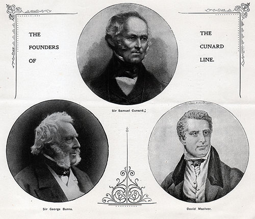 The Founders of the Cunard Line