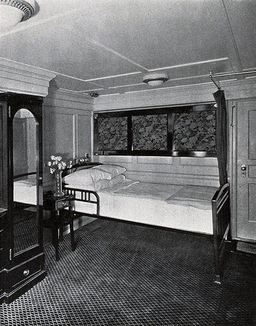 View of a Stateroom.