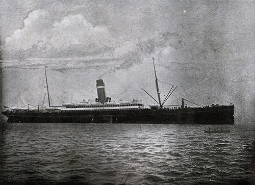 SS New England, Twin-Screw Steamship of the Dominion Line.