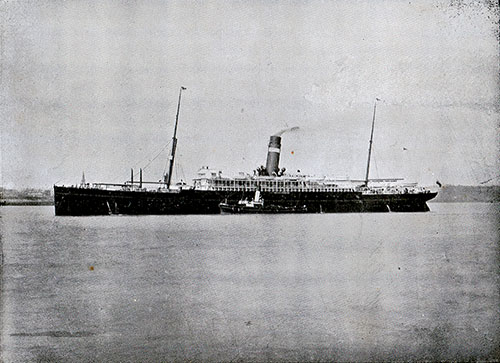 SS Canada, Twin-Screw Steamship of the Dominion Line.