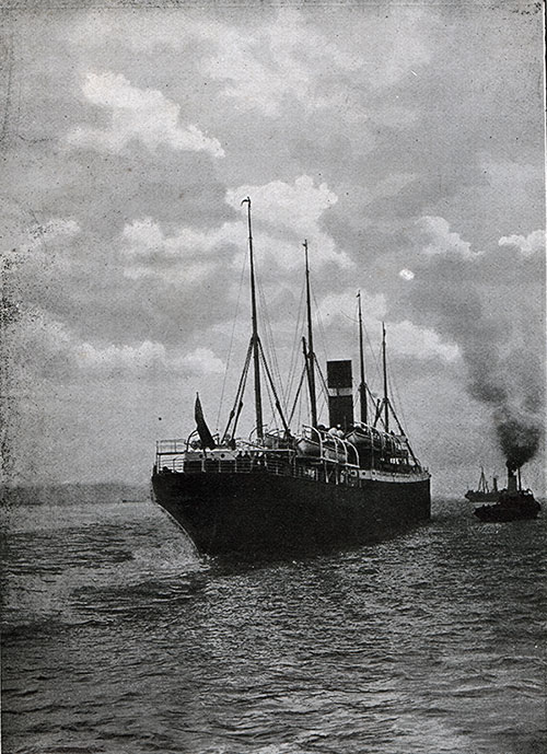 SS Dominion, Twin-Screw Steamship of the Dominion Line.