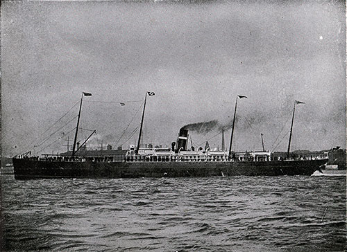 SS Labrador - Steamship of the Dominion Line.