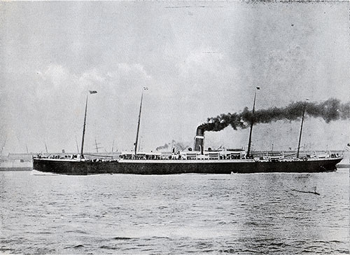 SS Vancouver - Steamship of the Dominion Line.