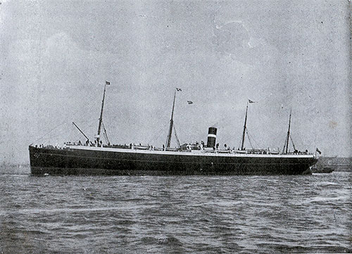 S S. Scotsman, Twin-Screw Steamship of the Dominion Line.