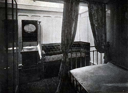 "First Cabin Stateroom ""A.,"" Promenade Deck, SS New England."