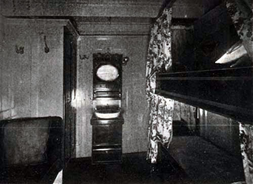 First Cabin Stateroom on the SS New England.