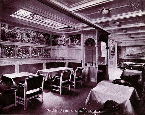 Smoking Room - SS Deutschland