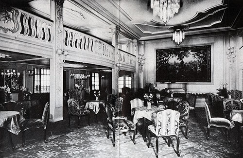 The First Class Lounge or Winter Garden.