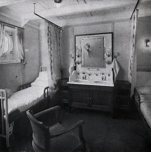 First Class Stateroom for Two